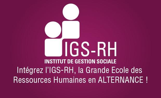 l'IGS-RH en alternance